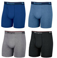 Champion Men's Boxer Brief 3-pack - Black, Blue Or Gray