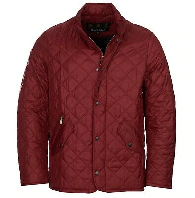 Barbour Men S Wine Red Burgundy Flyweight Chelsea Quilted