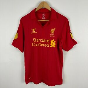 Liverpool-FC-Warrior-Football-Soccer-Jersey-Mens-Medium-Suarez-7