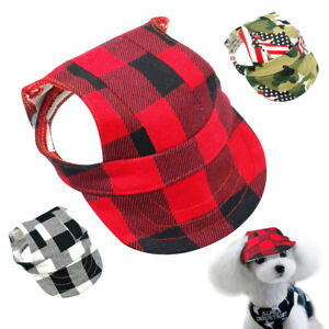 Hats-for-Dogs-Small-Pet-Puppy-Summer-Sun-Baseball-Cap-Visor-Outdoor-Accessory