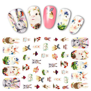 3D-Nail-Art-Transfer-Stickers-Animal-Strip-Lace-Adhesive-Decals-Decoration-Tips