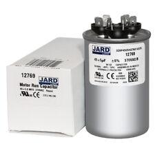 GE Genteq Capacitor Dual Run Round 70//10 uf MFD 370 Volt VAC 27L414 C37010R
