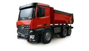Mercedes-Benz-Arocs-Lizenz-LKW-Kipper-2-4GHz-RTR-rot-NEU