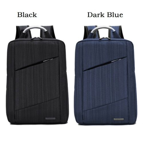 Waterproof Laptop Men Business School Backpack Anti Theft USB Charge Rucksack