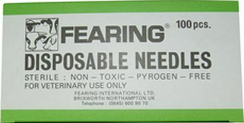 NEEDLES DISPOSABLE - 20 GAUGE X 1/2 X 100 PACK - FRG0305