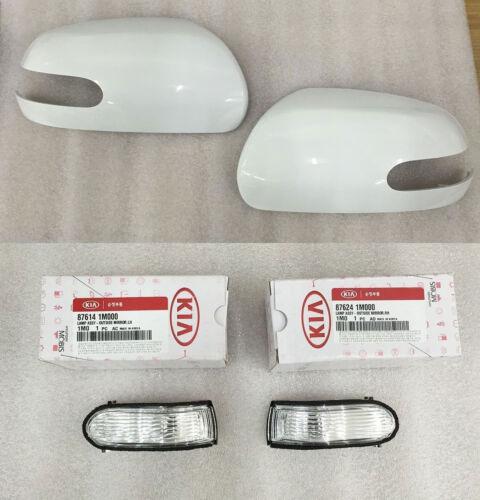 Kia Forte Cerato 2009-2011 OEM Side Mirror Cover Signal Lamp REPEATER 4P Set UD