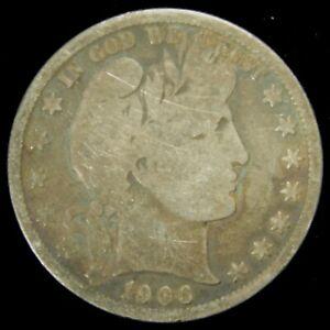 1906-O-Barber-Half-Dollar-GOOD-90-Silver-US-Coin