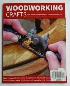 Woodworking Crafts Magazine Issue 63 Restoration DIY Hand Power & Green Woodwork