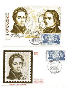 MONACO-034-serie-les-Arts-034-Carte-et-envelopp-e-1er-jour-sur-soie