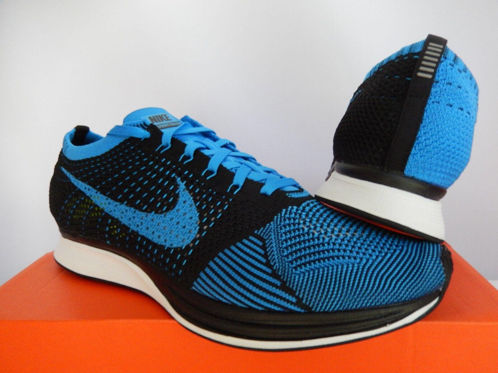 Nike flyknit flyknit Nike racer nero-photo blue-white sz 6,5 uomini / donne sz - 8 45f74f