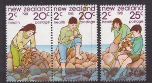NEW ZEALAND 1981 HEALTH SET NEVER HINGED MINT
