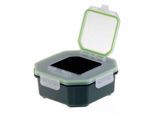 Greys Klip lok Flip top lid Bait box 1.4 pint Fishing tackle