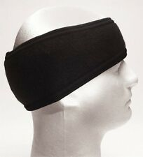 Black Double Layer Polyester Headband Ear Warmer 5523 Rothco