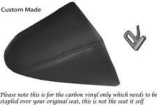 CARBON FIBRE VINYL CUSTOM FITS HARLEY DAVIDSON V-ROD VRSC 01-09 REAR SEAT COVER