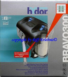 Hydor-Bravo-300-Hangon-Filter-Einhangefilter-Filtre-De-Filtre-Exterieur