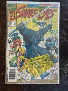 G-I-Joe-135-Comic-Book-NM-Marvel-Vol-1-1993-Snake-Eyes