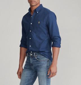 Polo-Ralph-Lauren-Slim-Fit-Shirt-Brand-New-Button-Down-Men-s-Shirt