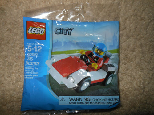 LEGO City 30150 Race Car New, Sealed, Retired BUY 6 POLYBAGS = FREE SHIPPING!