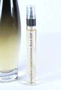Donna-Karan-Liquid-Cashmere-Black-Eau-de-Parfum-10ml-Glass-Atomizer-Travel-Spray