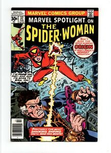 Marvel-Spotlight-32-NM-9-2-HIGH-GRADE-Comic-KEY-1st-Spider-Woman-Jessica-Drew