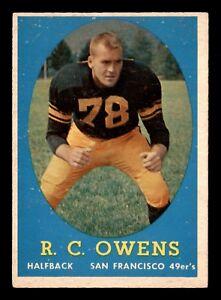 R-C-OWENS-1958-TOPPS-1958-NO-64-EX-22701