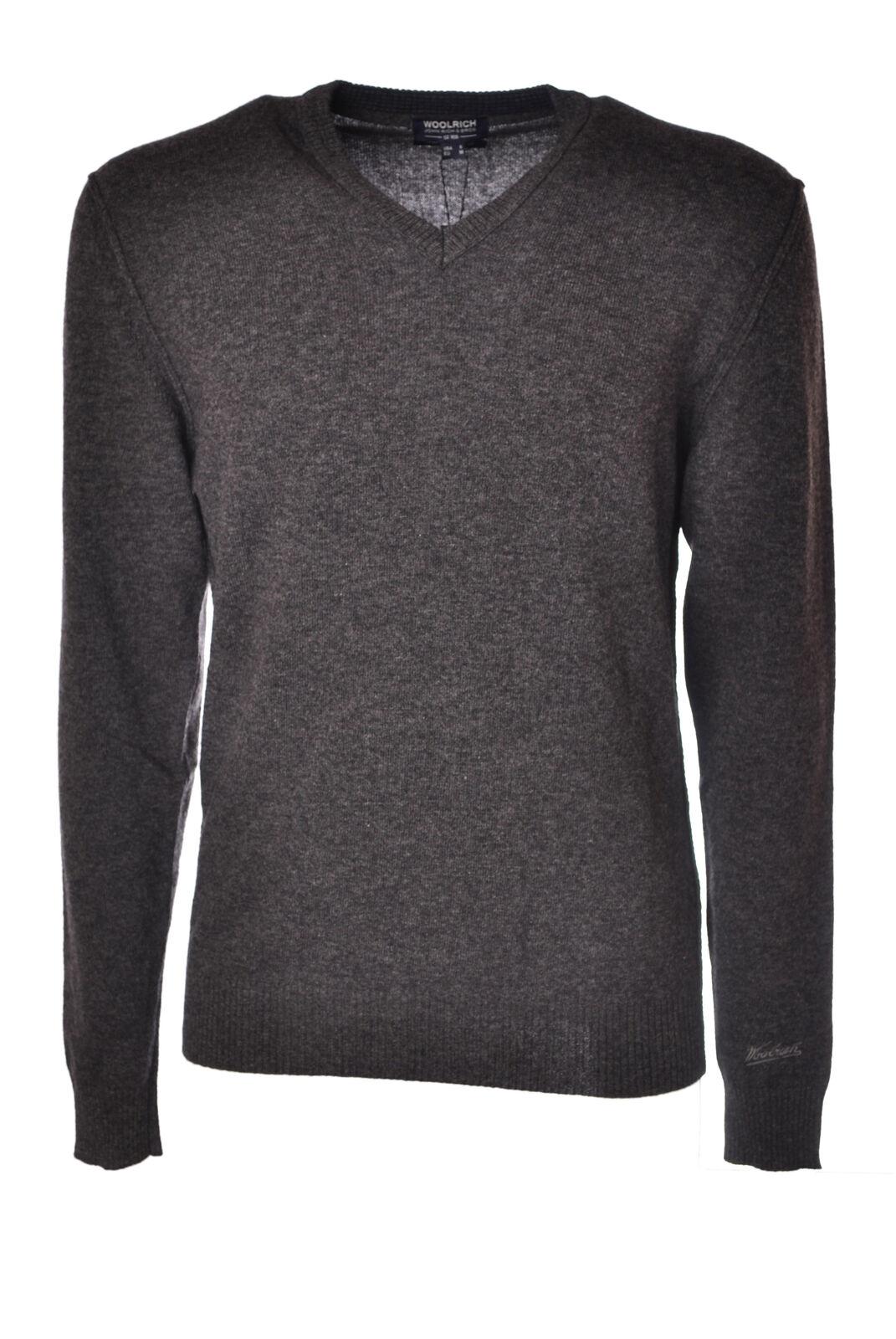 Woolrich - Knitwear-Sweaters - Man - Grau - 4216817C185830