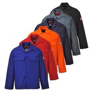 c71439482e95 PORTWEST BIZ2 Bizweld flame resistant jacket - 5 colours size XS-5XL ...