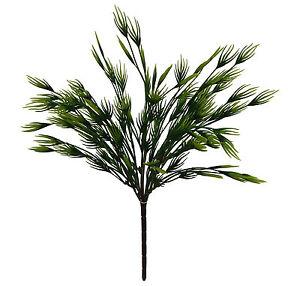 "Swirl Grass 17/"" Artificial Greenery Silk Indoor Fake Centerpieces Decorations"