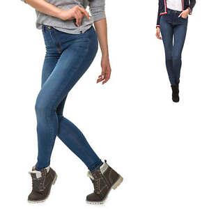 Only Damen Skinny Jeans Unifarben Basic Dark Wash Damenhose Lange Hose