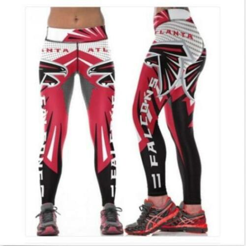 New Wide belt Legging Atlanta Falcons No.11 printed high waist legging S-4XL 620