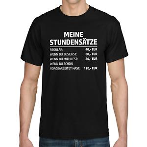 MEINE-STUNDENSATZE-Stundensatz-Handwerker-Mechaniker-Elektriker-Spass-Fun-T-Shirt