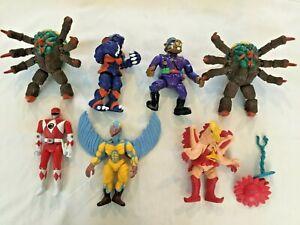 Vintage Power Rangers & TMNT 1990's Bandai Monsters Villains