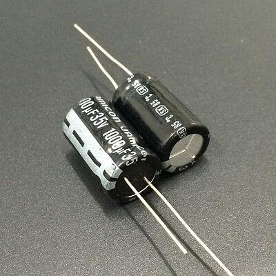 100pcs 1000uF 35V 12.5x20mm Jamicon SK 35V1000uF Electrolytic capacitor