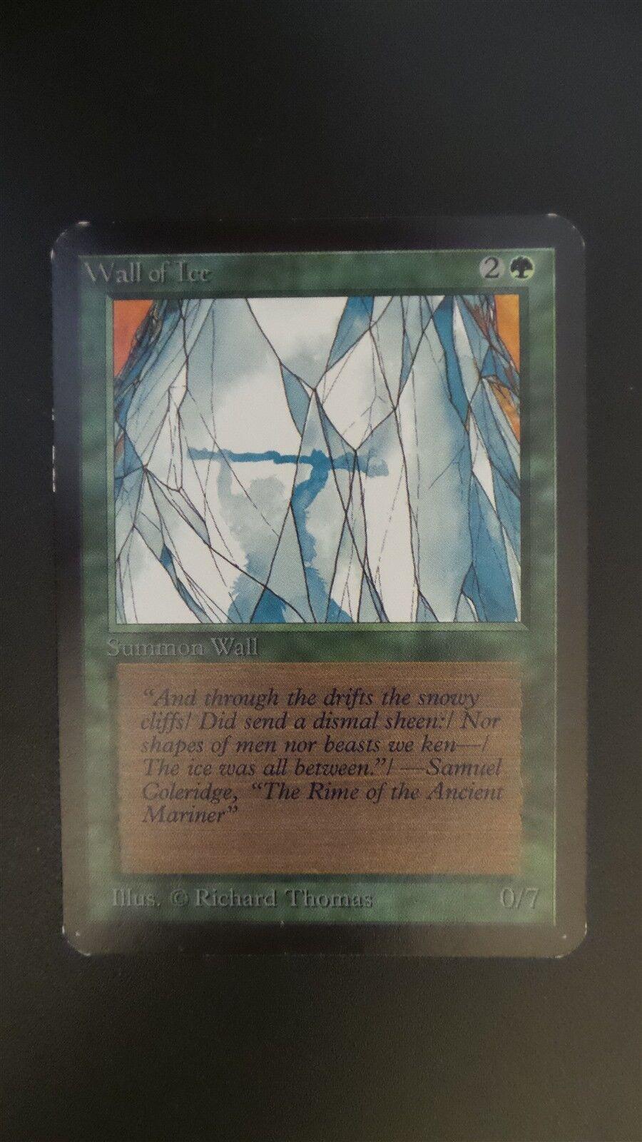 Alfa   wand eis   mtg magic (ex -   sp)
