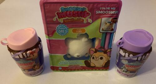 1 Felina Fawn Smooshy Mushy Bundle 2 Cup'n Cake Squishy Color My Squishy