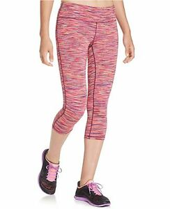 New-IDEOLOGY-Women-039-s-Printed-Capri-Cropped-Leggings-Fall-Yoga-Active-Workout-S