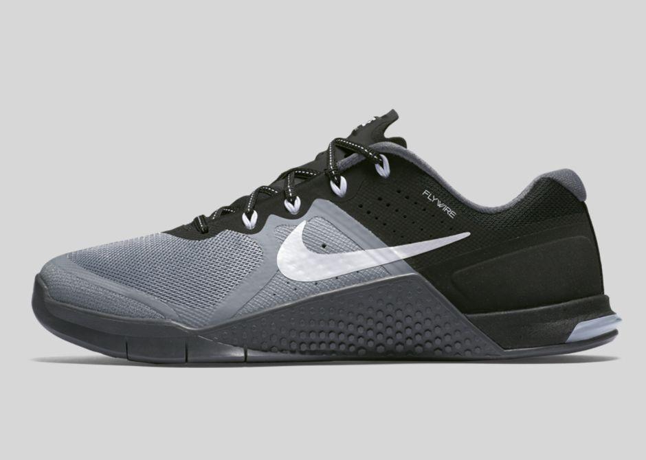 Nike señora METCON 2 821913-001 40 stealth/Blanco-Negro-dark stealth/Blanco-Negro-dark 40 Gris 908618