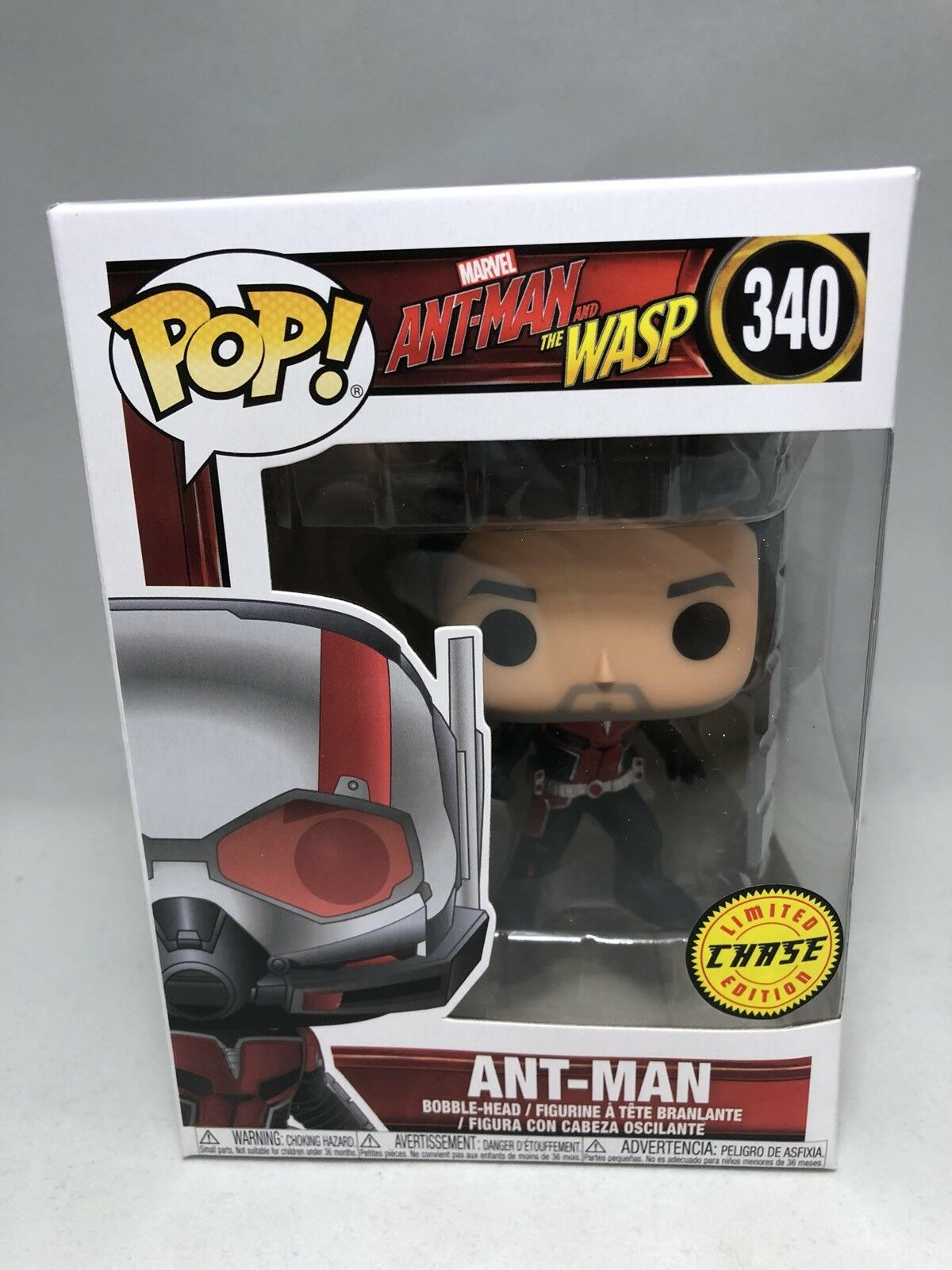 Marvel Ant-man And The Wasp Chase Limited Edition Funko Pop Vinyl