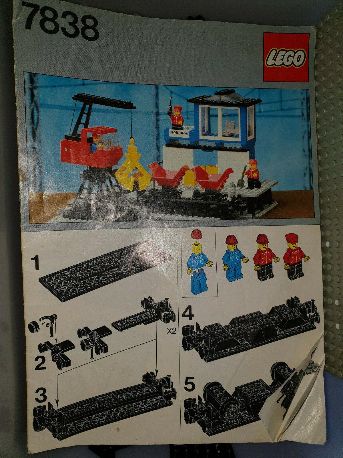 Lego Freight Loading Depot 7838