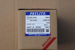 patlite lgebc 24fb 24v ac dc power unit for light signal. Black Bedroom Furniture Sets. Home Design Ideas