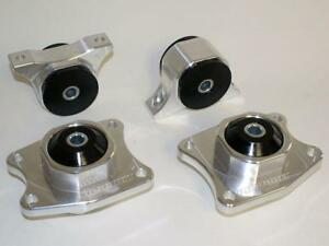 Hasport-Billet-Rear-Differential-DIFF-MOUNT-KIT-S2000-00-09-70A-MILD-Bushings