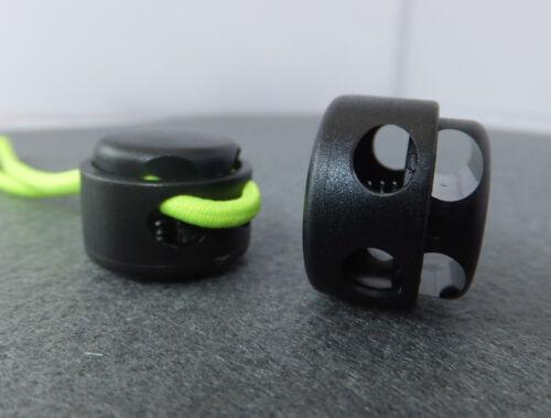 Pk of 10 CORD LOCKS Small to Big 15 Varieties to choose from zip fastener