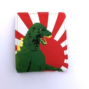 Hollywood Mirror Gothic Horror 80 90s Goth Punk Japan Rising Sun Godzilla Wallet