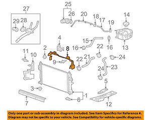 GMC GM OEM 15-18 Canyon 3.6L-V6 Radiator-Air Inlet Baffle 84152204