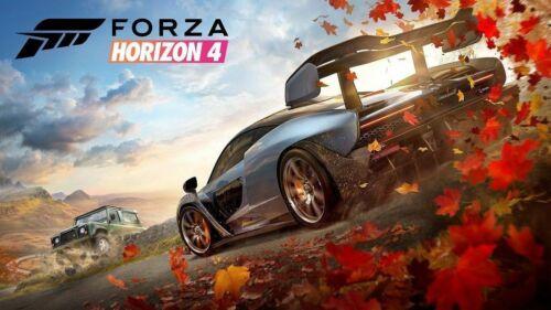 W778 Art Forza Horizon 4 Poster 20x30 24x36 Racing Video Game