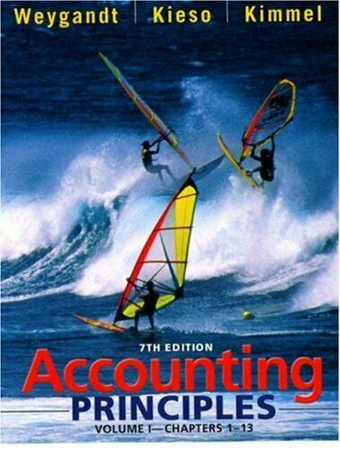 Accounting Principles, Chapters 1-13 by Weygandt, Jerry J. -ExLibrary