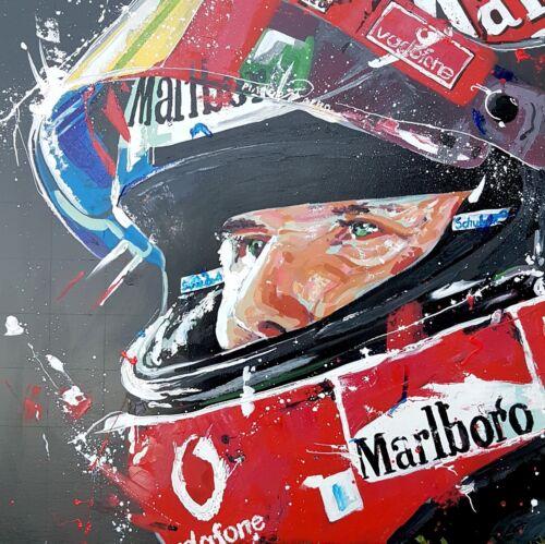 Canvas Picture Prints German F1 Car Racing Large Poster Michael Schumacher