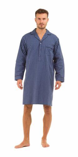 XXL Herren Haigman Nachthemd 100/%Baumwolle M Feine Qualität, L XL