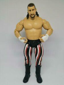 WWE-WCW-ECW-Terry-Funk-lucha-libre-figura-2003-Jakks-Pacifico-traje-de-rayas