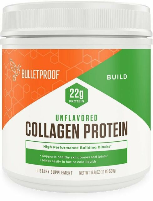 Collagen Protein by BulletProof, 17.6 oz Unflavored